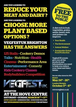 Vegfest @ Brighton
